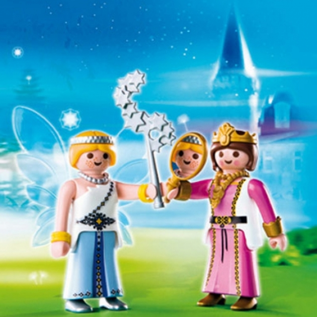 Playmobil серия сказочный дворец Принцесса и фея 4128pm